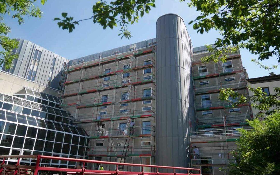Nettoyage et hydrofugation – Ecole Galilée à Bruxelles